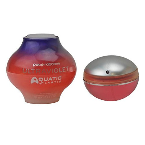 Ultraviolet Aquatic By Paco Rabanne For Women - 2.7 Oz Edt Spray