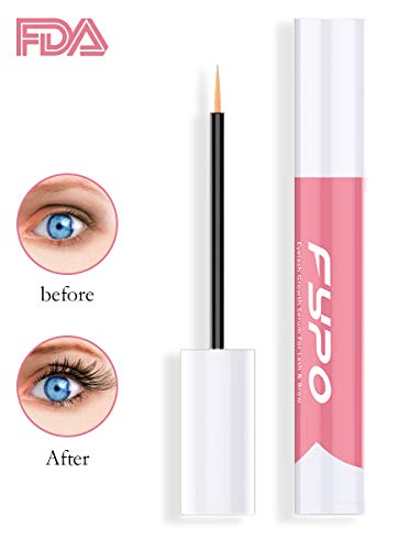 """Eyelash Growth Serum Eyebrow Enhancer Serum, Fypo Eyelashes Booster Serum For Longer, Thicker, And Fuller Eyelashes &Amp; Eyebrow Growth"""