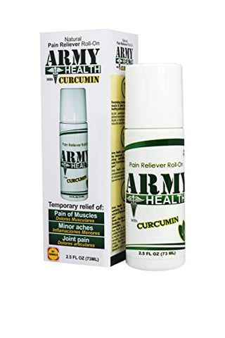 Army Health Roll On 100% Natural Curcumin