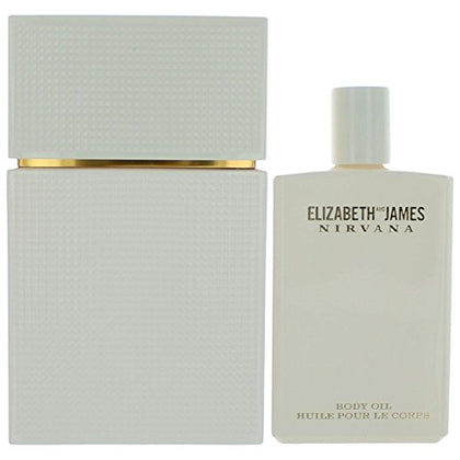 Elizabeth And James Nirvana White 2 Piece Gift Set For Women