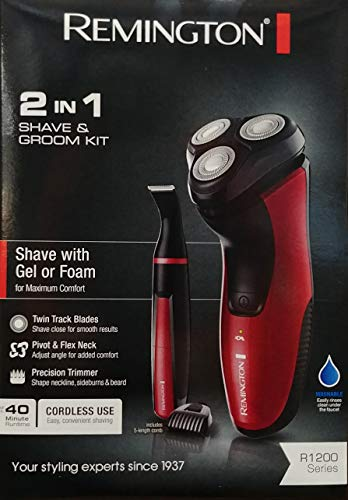 Remington Pr1200 2 In 1 Shave And Groom Kit