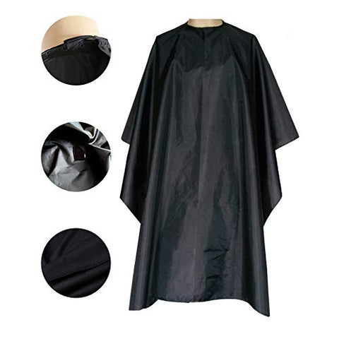 Magiczone Waterproof Professional Salon Cape With Snap Closure Nylon Hair Salon Cutting Cape Barber Hairdressing Cape - 59  X 51