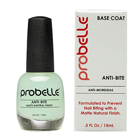 Probelle Anti-Bite  Nail Biting Treatment For Kids &Amp; Adults  No Bite Nail Polish, Thumb Guard &Amp; Thumb Sucking Stop - 9 Free  .5 Fl Oz (15 Ml)