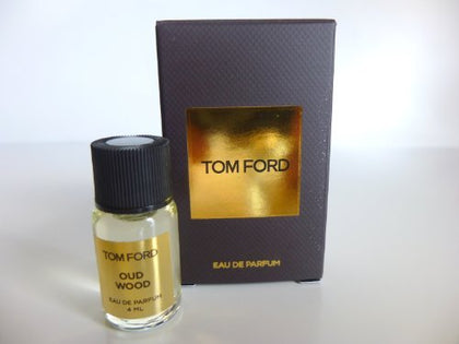 Tom Ford Private Blend Oud Wood Eau De Parfum 4Ml Splash Bottle