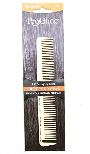 Fromm #753 Proglide Detangling Comb, All Purpose, Cutter, Thinner, Plastic Comb, Large , Styling Comb, Professional, Personal Use, Long Hair, Short Hair