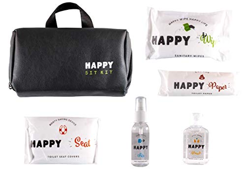 Happy Sit Kit All in one public restroom survival kit and Peace of Mind!