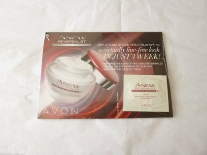 Avon Anew Reversalist Complete Renewal Sample Day Cream Sample Size (5)