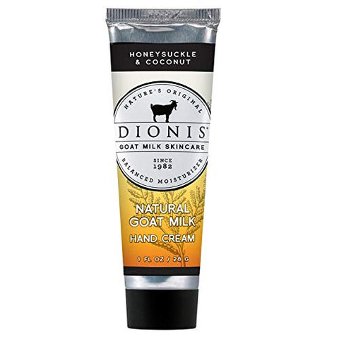 Dionis Goat Milk Skincare Hand Cream (Honeysuckle &Amp; Coconut, 1 Oz)