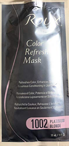 Roux Color Refresh Mask, 1002 Platinum Blonde, 1 Fluid Ounce