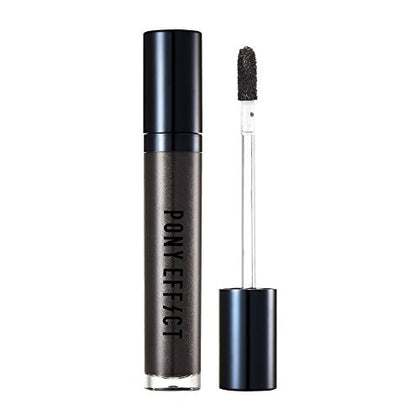 Pony Effect Metallic Matte Lip Color #Witchcraft 5.5G, 0.2 Ounces, Long-Lasting Lip Gloss, Shimmering Colors, Highlight Lips, Moisturizing Lipstick, Black Pearl Color