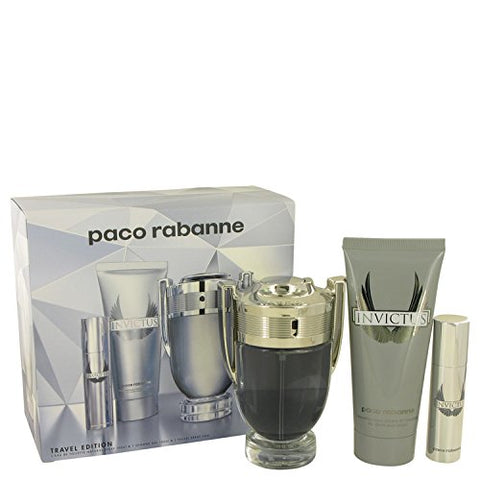 Paco Rabanne Gift Set Invictus By Paco Rabanne