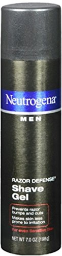 Neutrogena Men Razor Defense Shave Gel, 7 Oz