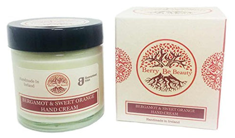 Berry Be Beauty Bergamot &Amp; Sweet Orange Hand Cream  Handmade In Ireland