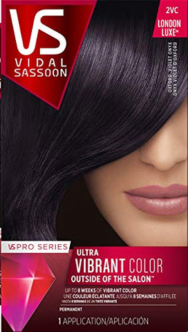 Clairol Vidal Sassoon Pro Series Hair Coloring Tools, 2Vc Oxford Violet Onyx