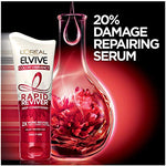 Loral Paris Elvive Color Vibrancy Rapid Reviver Deep Conditioner, Repairs Damaged Color-Treated Hair, No Leave-In Time, With Damage Repairing Serum And Antioxidants, 6 Oz.