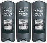 Dove Men + Care Elements Body Wash, Charcoal And Clay, 13.5 Ounce
