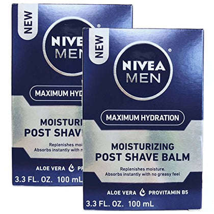Nivea For Men Replenishing Post Shave Balm 100Ml (Set Of 2)