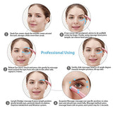 Eye Massager, Vibration 42 Heated Under Eye Massager Wand - Relieves Dark Circles Puffiness Eye Wrinkle Device