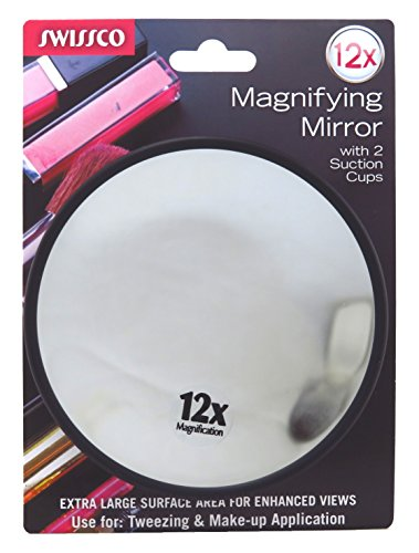 Swissco Mirror Magnifying 12X With Suction