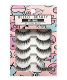 Jimire Fake Eyelashes Natural Wipsy Lashes False Eyelashes Multipack