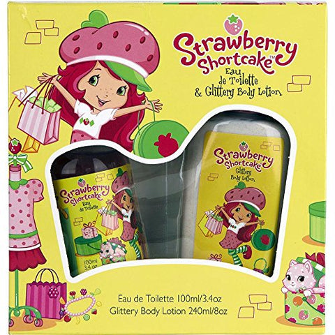 Marmol &Amp; Son Strawberry Shortcake Perfume For Children, 3.4 Ounce And Body Wash 8.0 Ounze Gift Set