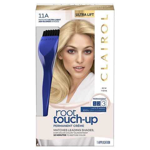 Clairol Root Touch-Up, Permanent 11A Ultra Light Ash Blonde, 2Count