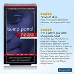 Bump Patrol Maximum Strength Aftershave Formula - After Shave Solution Eliminates Razor Bumps And Ingrown Hairs - 4 Ounces