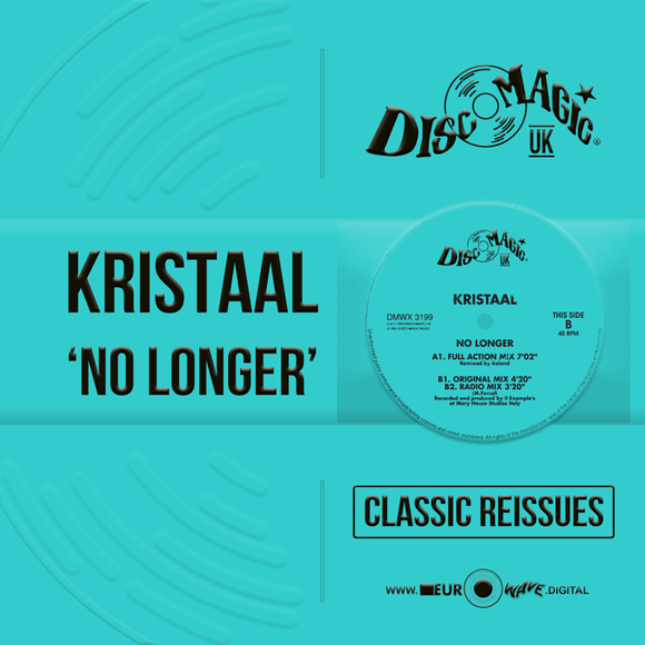 Kristaal 'No Longer' - Digital Masters