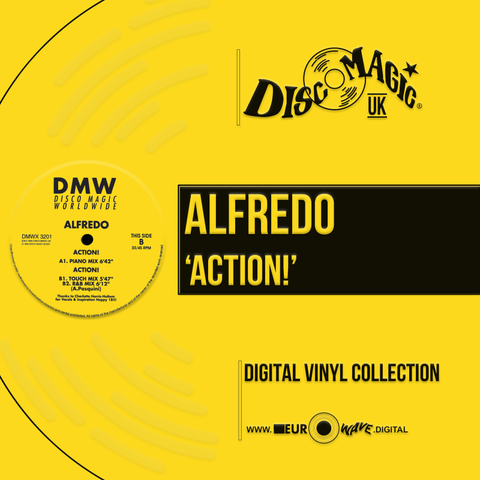 "Alfredo ""Action!"" - MP3 / WAV / DJ WAV / DJ CD"