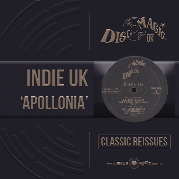 INDIE UK 'Apollonia' - Digital Masters