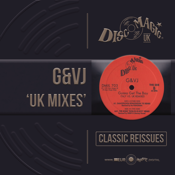 G&VJ 'UK Mixes' - Digital Masters