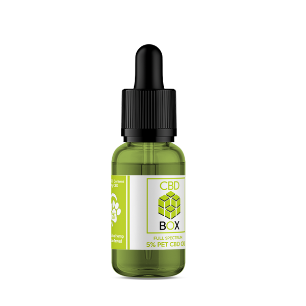 The CBD Box - 5% 500mg CBD Oil For Small Dogs