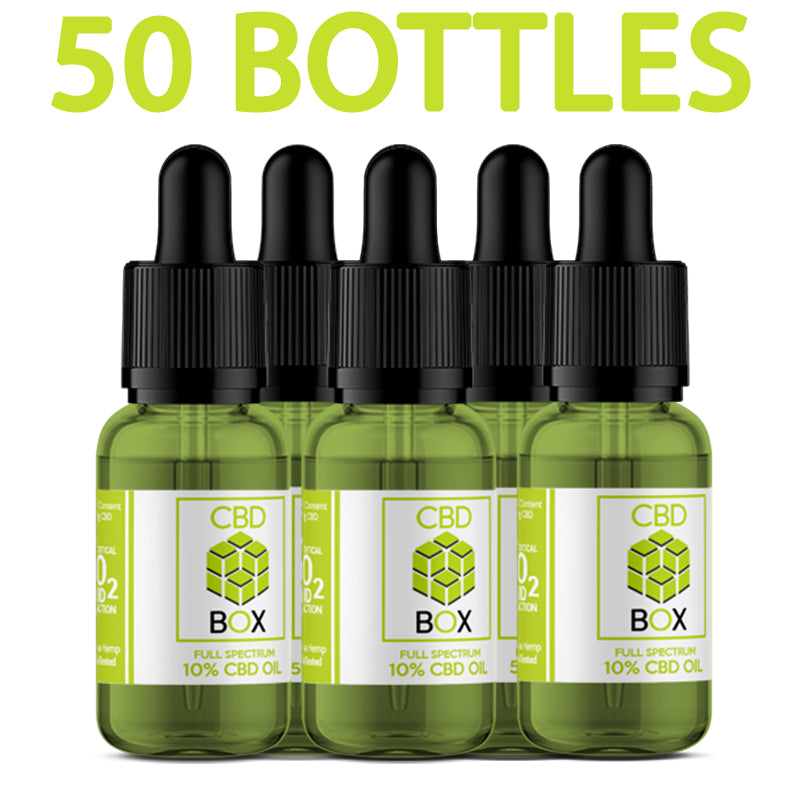 The CBD Box - Wholesale CBD Oil Packages