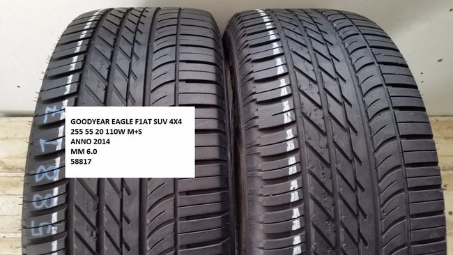 Pneumatici Usati Goodyear Eagle F1 At Suv 4X4 255 55 20 110W M+S Gomme Estive - Gommeusatestore.it