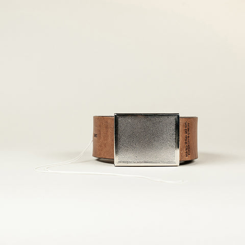SANS N°002. Belt. Brown