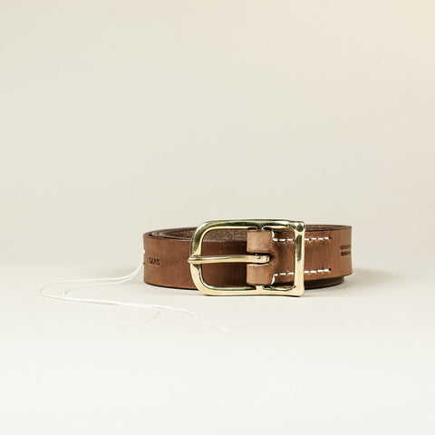 SANS N°006. Belt. Brown