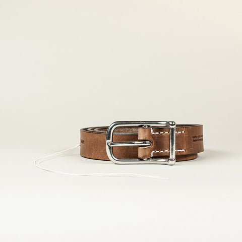 SANS N°007. Belt. Brown