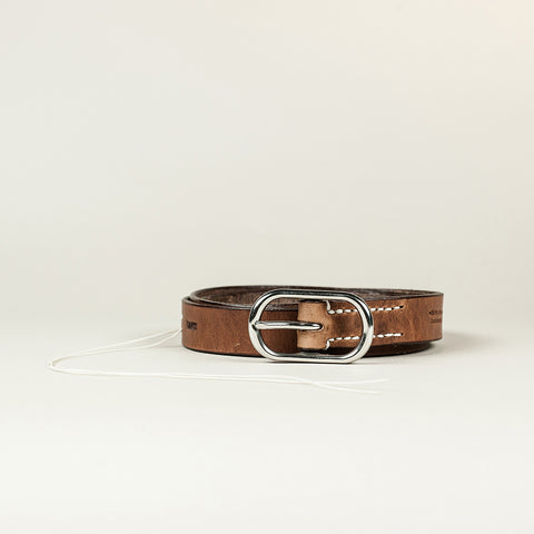 SANS N°008. Belt. Brown
