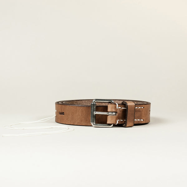 SANS N°015/30. Belt. Brown