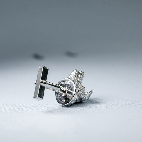 SANS N°025. 'Dogs'. Cufflinks (Border Collie/Border Collie)