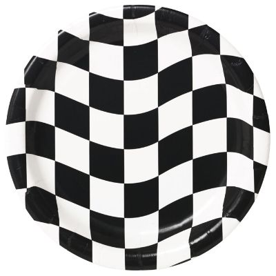 Black & White Checkered