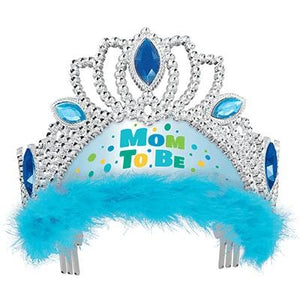 Mom To Be Blue Tiara