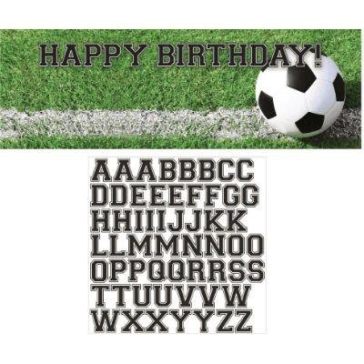 Soccer Fanatic Banner Birthday 5'