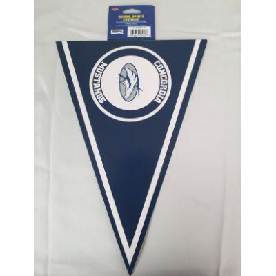 Concordia Mustangs Pennant Cutout 14