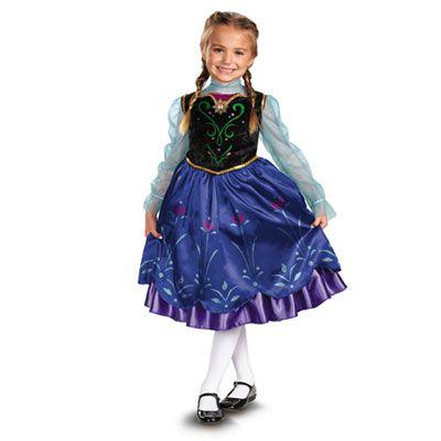 Princess Anna Dress Child Costume - Disney: Frozen