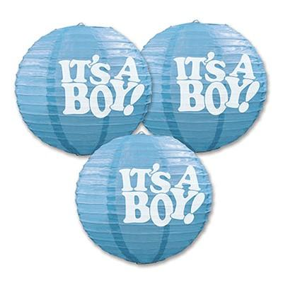 Blue Lantern It's A Boy - 3 Pack