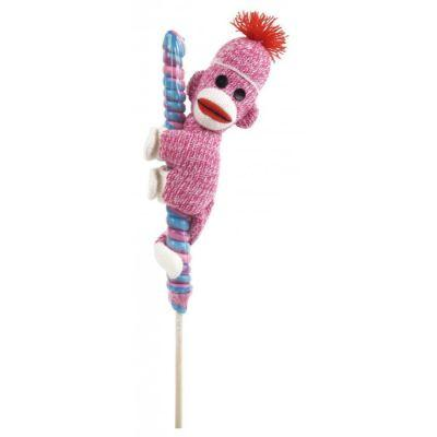 Lollipop Sock Monkey Hitchers