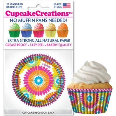 Cupcake Case Color Burst Pk32