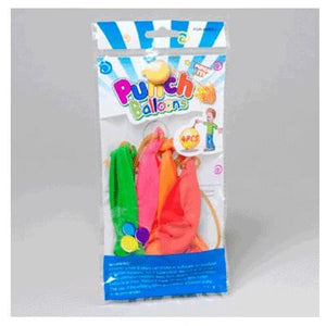 Neon Punch Ball - 4 Pack
