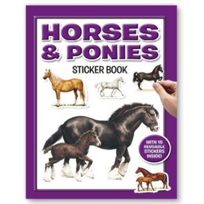 Sticker Book Horses